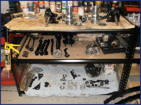 Bits & pieces for the Healey resto