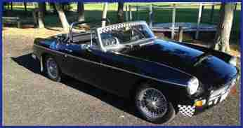 Pete's MGB Club Car
